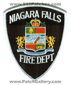 Canada ON - Niagara Falls Fire Department Patch Fire Dept, Fire Department, I Love You Son, Fire Badge, Canada, Police Patches, Emergency Vehicles, Health And Safety, Fire Trucks