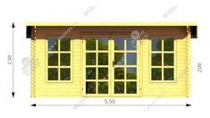 Záhradný domček Daiki Daiki s rozlohou 20 m² vás určite poteší! Tento robustný záhradný domček je  navrhnutý podľa súčasných trendov. Výrazne povznesie exteriér Vášho domova 20 M2, Shed, Outdoor Structures, Windows, Outdoor Decor, Home Decor, Decoration Home, Room Decor, Home Interior Design