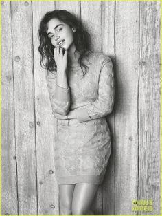 Emilia Clarke Covers 'WSJ. Magazine' March 2014 (Exclusive) | emilia clarke covers wsj magazine march 2014 exclusive 05 - Photo