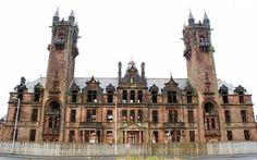 gartloch mental hospital insane asylum 4 12 Unnerving Abandoned Asylums and Sanatoriums