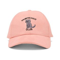 Forever21 Unimpressed Faux Suede Cap (750 RUB) ❤ liked on Polyvore featuring accessories, hats, cat hat, embroidered hats, embroidered baseball caps, adjustable hats and cat baseball cap