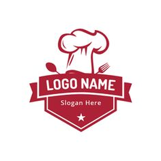 DesignEvo's cooking logo maker provides you with lots of logo templates. You can create wonderful cooking logos online with great ease. Try it for free right now. Food Logo Design, Logo Food, Custom Logo Design, Custom Logos, Logo Restaurant, Baking Logo, Chef Logo, Logo Simple, Banners