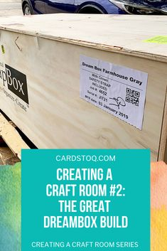 Today, though, I'm going to regale you the tale of The Great DreamBox Build™. Let me start this off by saying that creating a craft room is a LOT more. Pallet Jack, Well Thought Out, Sewing Rooms, My Favorite Part, Room Organization, The Originals, Create, Building, Furniture