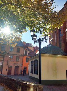 A Sunny Stroll Through Vecrīga, Riga, Latvia