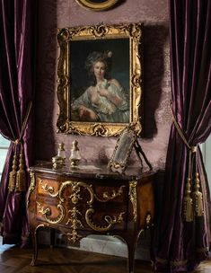 Stunning interiors by Jacques Garcia at Chateau de Villette.