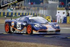 McLaren F1 GTR  #24 Gulf (GTC)  Le Mans '95 4th Place