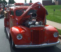 old international trucks | Fire Engines Photos - International Hot Rod Fire Truck