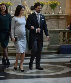 Sweden Royals attend 'Te Deum' service at the Royal Chapel