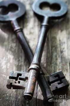 I love old keys. What do you think thes opened?