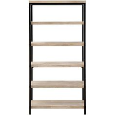 Anjou 5-Shelf Bookcase (€485) ❤ liked on Polyvore featuring home, furniture, storage & shelves, bookcases, five shelf bookcase, 5 tier bookcase, 5 tier shelving, book-case and 5 tier shelves
