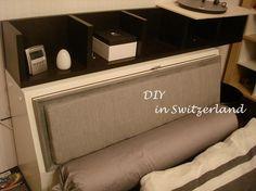 DIY for bedhead (DIY...Der Kopfteil vom Bett)