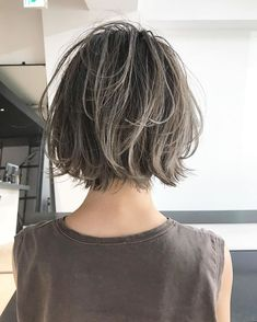 Pin on ヘアスタイル Short Hair Designs, Short Hair Styles, Short Bob Hairstyles, Cool Hairstyles, Hair Arrange, Hair Reference, Hair Remedies, Girl Haircuts, Hair Colorist