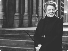 """Maggie Smith as Professor Minerva McGonagall, """"Harry Potter"""" series, Harry James Potter, Harry Potter Universal, Harry Potter World, English Actresses, British Actresses, Companion Of Honour, Acceptance Letter, Maggie Smith, Mischief Managed"""