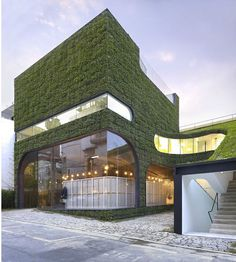 It's Alive! 8 Buildings With Green Walls For Earth Day