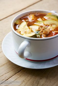 Hearty Zucchini Soup | JuJu Good News