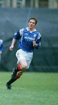 Barry Ferguson of Rangers in 1997.