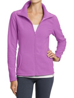 Old Navy | Women's Micro Performance Fleece Zip Jackets