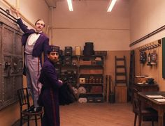 "Still of Ralph Fiennes and Tony Revolori in ""The Grand Budapest Hotel"" (2014)"