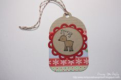 When I started the 25 Days of Christmas Tags I wasn't thinking how busy those last two weeks before the big day are. So I apologize if my p. 25 Days Of Christmas, Christmas Gift Tags, Christmas Crafts, Xmas, Christmas Ornaments, Gift Wrapping, Wrapping Ideas, Paper Crafts, Crafty