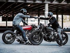 b85a1e9b4cfe3  caferacer  bratsty Motorcycle Outfit, Motorcycle Style, Cafe Racer  Motorcycle, Motorcycle Helmets