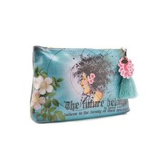 Papaya Art Large Accessory Pouch Future Beauty | Womens Bags Makeup Travel