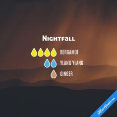 Nightfall - Essential Oil Diffuser Blend