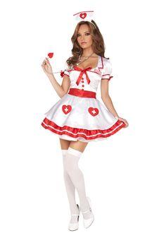 Nurse Kandi Halloween Costume available at Teezerscostumes.com
