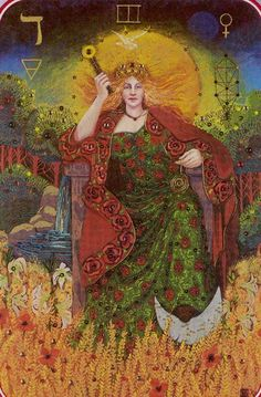 The Empress - The Spiral Tarot