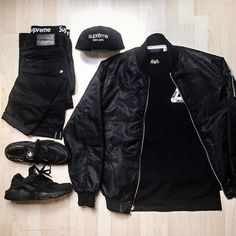 Black out. #fashion