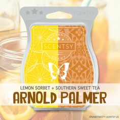 Scentsy Scent Southern Sweet Tea + Lemon Sorbet = Arnold Palmer