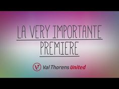 ▶ Ouverture Val Thorens - 23/11/2013 - Teaser - YouTube