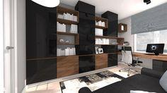Wystrój wnętrz - Pokój dziecka dla dziewczynki - pomysły na aranżacje. Projekty… Home Decor Bedroom, Shelving, Bedrooms, Design, Shelves, Bedroom, Shelving Units, Shelf
