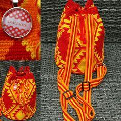 Mochila backpack Tapestry Crochet, Friendship Bracelets, Backpacks, Knitting, Bags, Inspiration, Jewelry, Fashion, Wallets