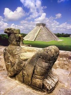 Chichen Itza Ruins - Mexico: is an ancient Maya city . Mayan Ruins, Ancient Ruins, Temple Maya, Chichen Itza Mexico, Maya Civilization, Guatemala, Inka, Visit Mexico, Riviera Maya