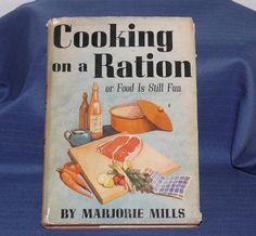 A pinner says: I have been looking for this book for years! still foiled and cant find.Cooking on a Ration World War II Cookbook Wartime by allunique Old Recipes, Vintage Recipes, Cookbook Recipes, Cooking Recipes, Cookbook Ideas, Retro Recipes, War Recipe, Wartime Recipes, Food Rations
