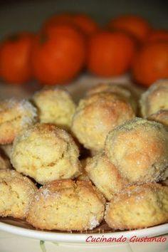 Tangerine cookies - Biscotti al mandarino delicati e morbidi