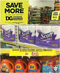 Save with Digital Coupons at Dollar General! Sign up is easy, then use the digital coupons at checkout to maximize your Dollar General store savings. #ad https://ooh.li/d97752b