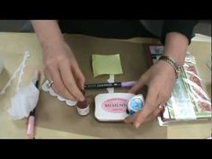 YouTube Video Demo showing how to use Classic Scallop Border Stamps with Spellbinders Edgeabilities.