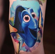 Just Keep Swimming: Groovy Finding Nemo Tattoos