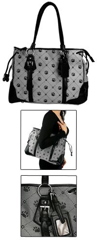 Paws & Hearts Shoulder Bag at The Animal Rescue Site