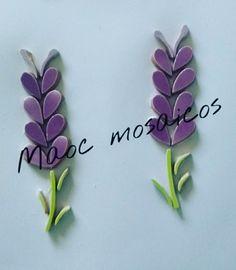 mosaiquismo mosaico flores lavanda flor