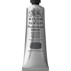 Professional Acrylic Graphite Grey | Winsor & Newton
