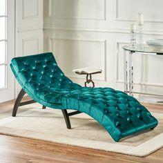 Velvet Chaise Lounge, Lounge Sofa, Chaise Lounges, Velvet Room, Blue Velvet, Upholstery, House Design, Couch, Interior Design
