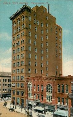 Youngstown Ohio United Cigar Clothing Stores Wick Building Acmegraph Postcard | eBay