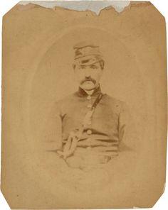 """Prewar albumen of Gen. Henry """"Harry"""" Heth, C.S.A."""