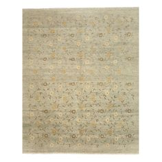 Eorc Hand Knotted Twisted Agra Rug