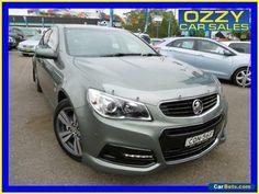 2013 Holden Commodore VF SV6 Green Automatic 6sp A Sedan #holden #commodore #forsale #australia
