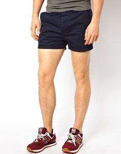 ASOS Chino Shorts In Shorter Length