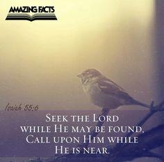 Isa 55:6  seek the lord while ......