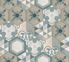Textures Texture seamless   Hexagonal tile texture seamless 16874   Textures - ARCHITECTURE - TILES INTERIOR - Hexagonal mixed   Sketchuptexture